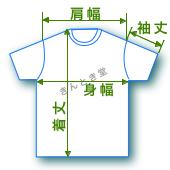 採寸方法 コムデギャルソンのTシャツ